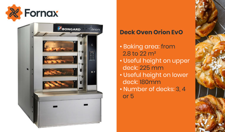 fornax bongard oven bakeries pastries